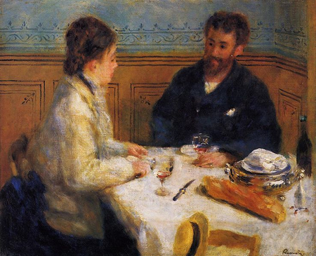 The Luncheon by Renoir